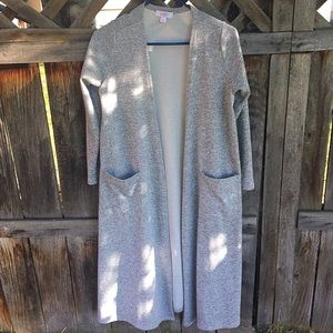 Like New! LulaRoe Sarah/long sweater/duster small